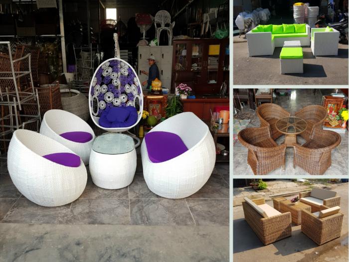 Top 20 bộ bàn ghế cafe nhựa giả mây - ghế giả mây từ địa chỉ bán trực tiếp đan tại TPHCM