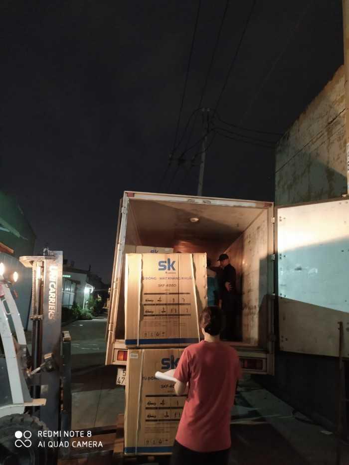 tủ đông đứng Sumikura
