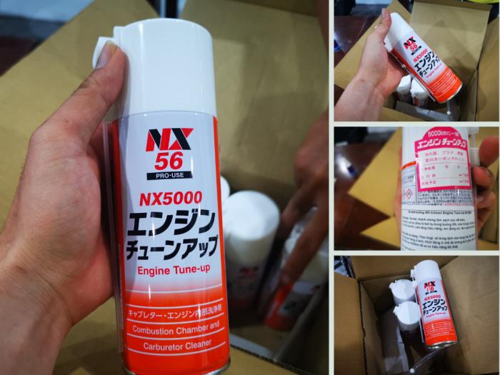 Nguồn hàng chai dung dịch vệ sinh buồng đốt Nhật Bản cho ô tô Toyota, Mazda, xe máy Honda, Yamaha