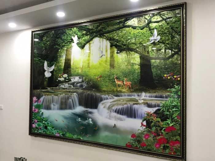 Báo giá gạch tranh 3D tại Hà Nội - Tranh gạch 3D ốp tường phòng khách, phòng tắm, cầu thang, nhà bếp, phòng ngủ