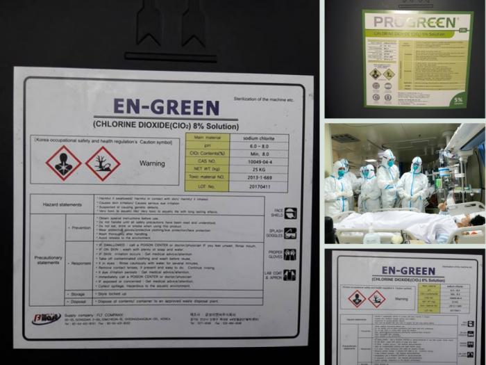 Nhà phân phối Chlorine Dioxide CLO2 tẩy trùng, khử khuẩn từ TPHCM trên MuaBanNhanh