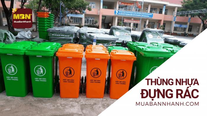 Thùng nhựa đựng rác trên MuaBanNhanh