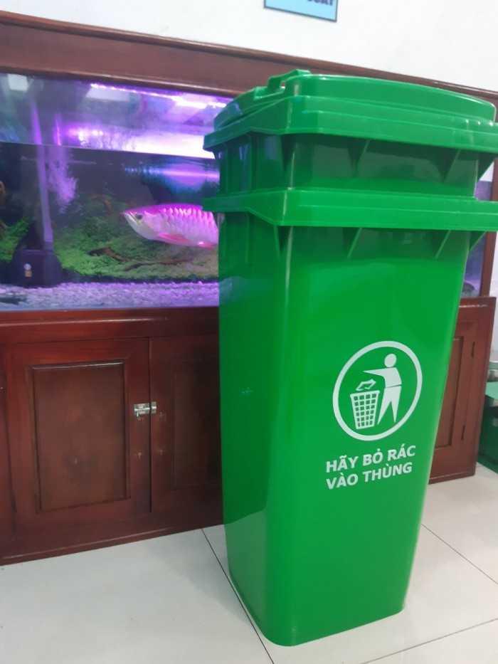 Thùng đựng rác gia đình, thùng đựng rác có nắp đậy