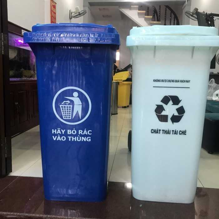 Thùng đựng rác 2 ngăn, thùng đựng rác giá rẻ trên MuaBanNhanh