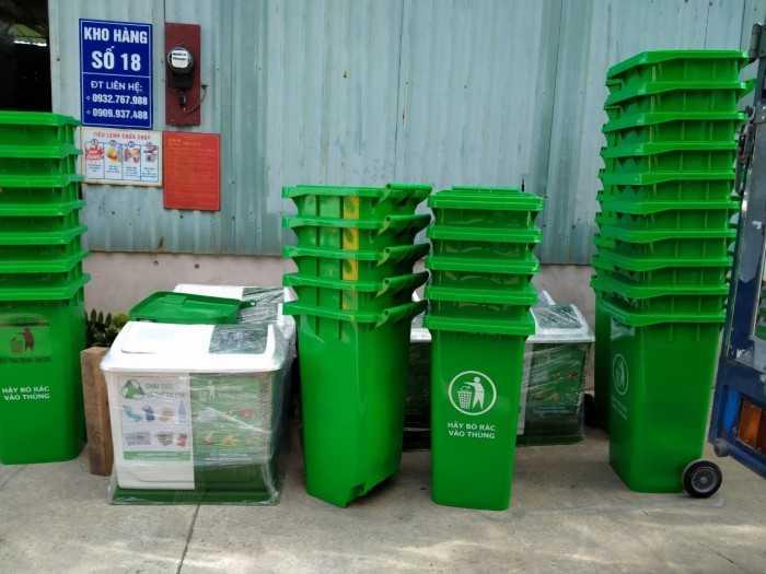 Nhà sản xuất thùng rác nhựa HDPE, Composite TPHCM