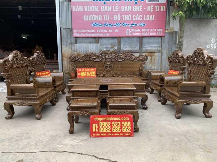 Mẫu bộ bàn ghế gỗ phòng khách, xem mẫu bàn ghế gỗ phòng khách trên MuaBanNhanh