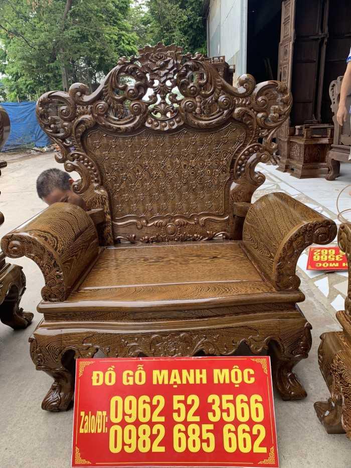 Mẫu bàn ghế phòng khách bằng gỗ, mẫu bàn ghế gỗ hiện đại cho phòng khách nhỏ