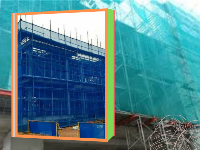 Lưới chống rơi công trình, lưới công trình xây dựng chất lượng tại Hà Nội