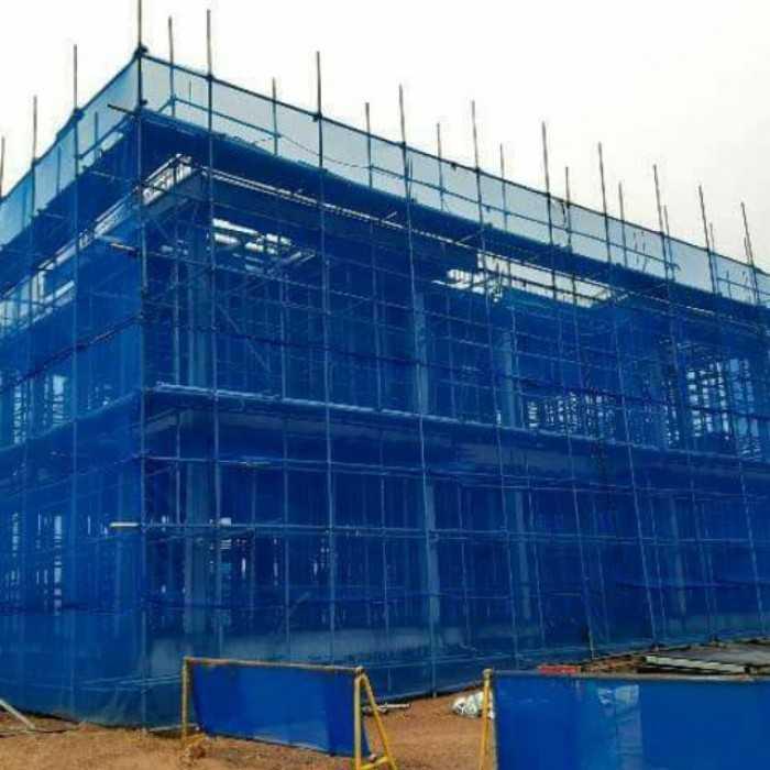 Lưới công trình hứng đỡ, lưới công trình che tầm nhìn, Lưới chắn bụi công trình chất lượng tốt, độ bền cao