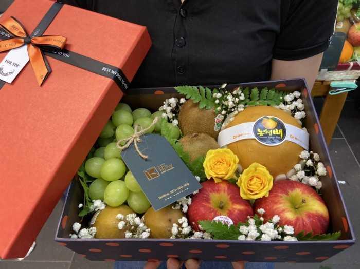 Hộp quà tặng trái cây