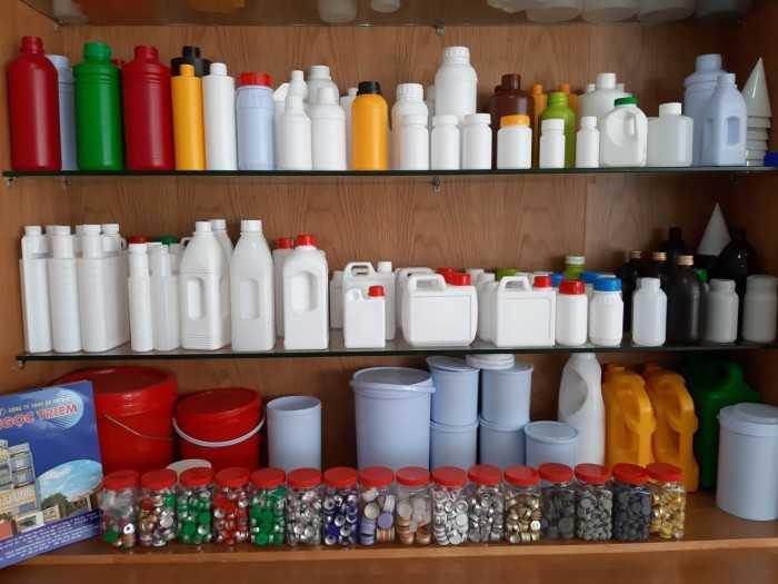 Công ty sản xuất chai nhựa HDPE nhiều dung tích