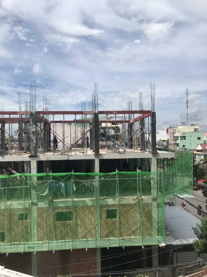 Lưới xanh bao che công trình, lưới che bụi công trình, lưới che công trình giá tốt