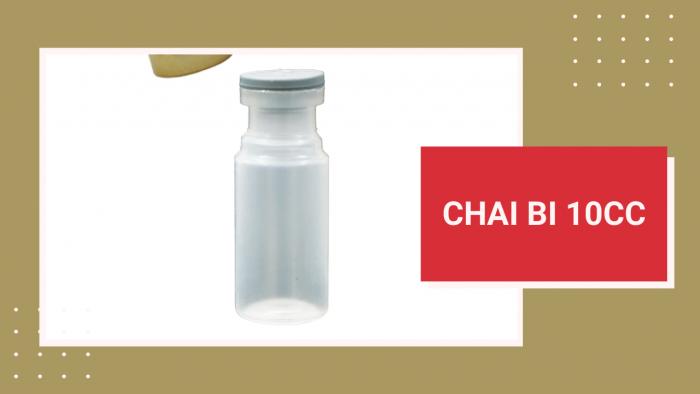 Chai bi 10cc