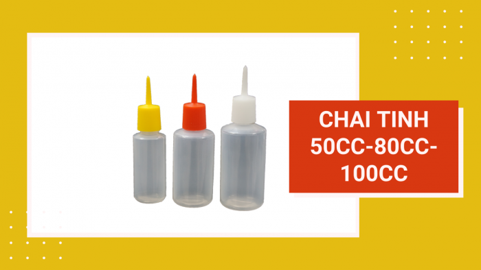 Chai tinh 50cc-80cc-100cc