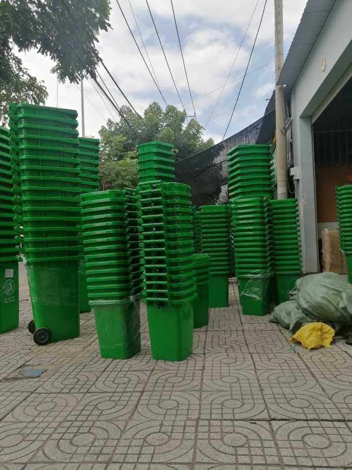 Thùng đựng rác 120 lít