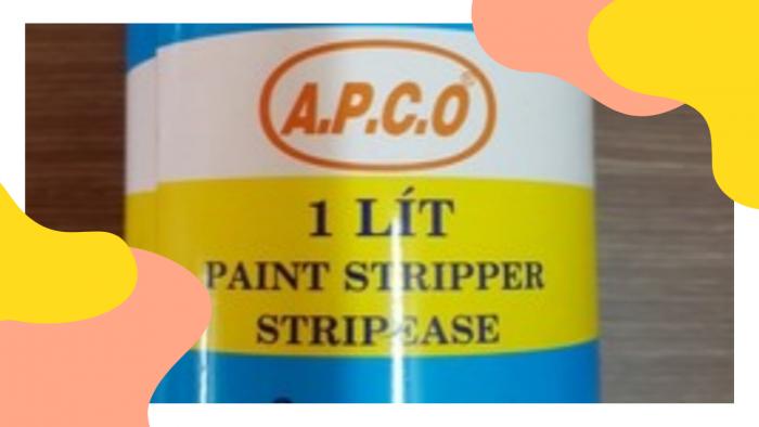 Tẩy sơn Apco 1 lít