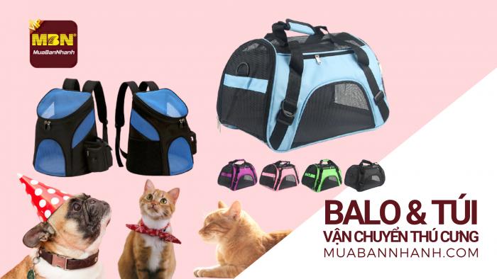 Mua bán balo phi hành gia, giỏ, cặp, túi vận chuyển chó mèo thú cưng
