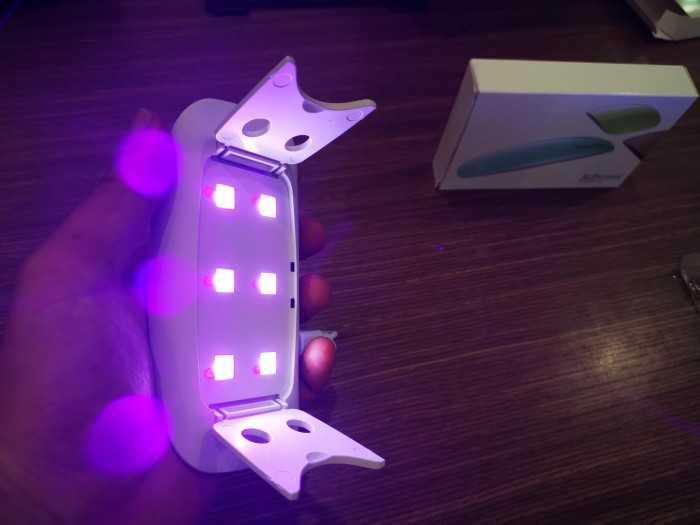 Bán đèn sấy sơn móng tay mini cho tự làm móng tại nhà, tiệm nail nhỏ
