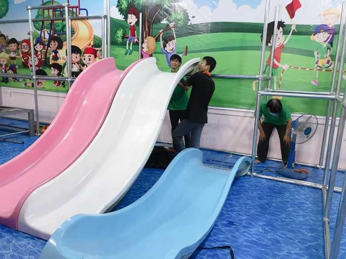 Đơn vị thiết kế và thi công lắp đặt trọn gói khu vui chơi trẻ em trong nhà