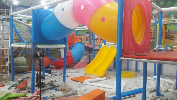 Thiết kế khu vui chơi trẻ em chất lượng, bắt mắt và đầy màu sắc