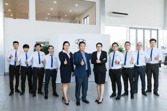 Hoạt động tại Hyundai Phú Lâm - Showroom Hyundai TPHCM