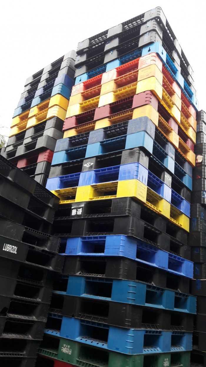 Giá pallet nhựa cũ tại Bắc Ninh - Công ty cho thuê mua bán pallet phục vụ khu công nghiệp - Ảnh: 5