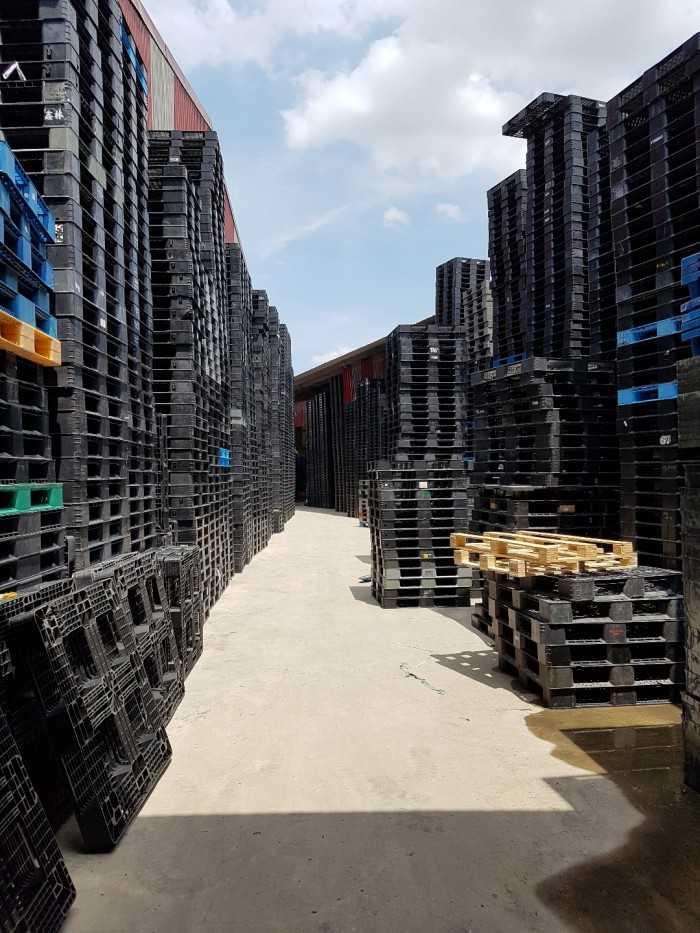 Giá pallet nhựa cũ tại Bắc Ninh - Công ty cho thuê mua bán pallet phục vụ khu công nghiệp - Ảnh: 4