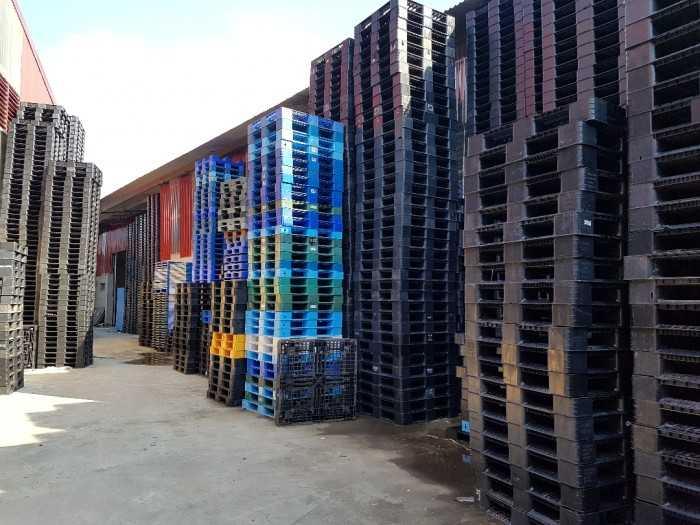 Giá pallet nhựa cũ tại Bắc Ninh - Công ty cho thuê mua bán pallet phục vụ khu công nghiệp - Ảnh: 3