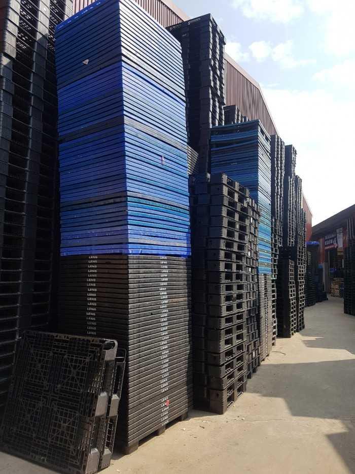 Giá pallet nhựa cũ tại Bắc Ninh - Công ty cho thuê mua bán pallet phục vụ khu công nghiệp - Ảnh: 2