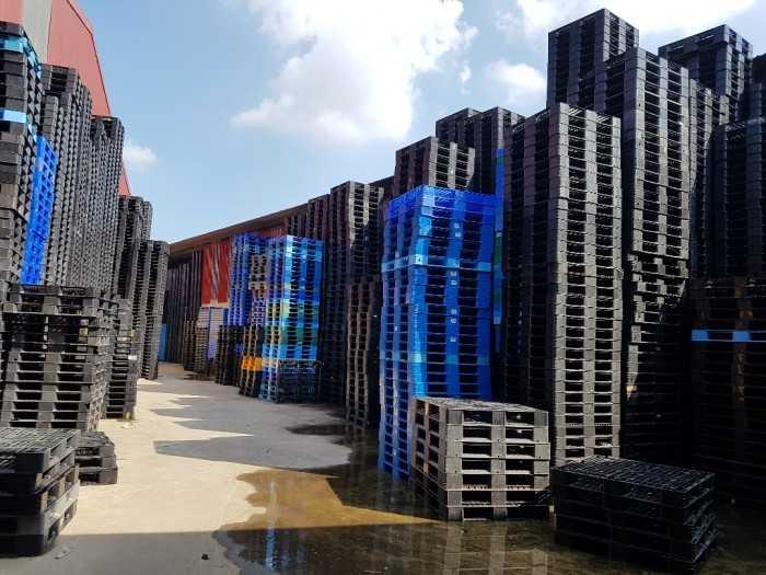 Phân phối Pallet nhựa mới (nhập khẩu), Pallet nhựa cũ, Pallet nhựa ngoại cũ (95%) Bắc Ninh
