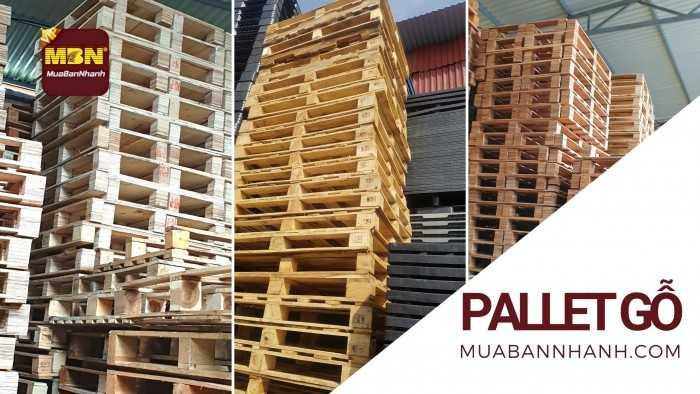 Mua bán Pallet gỗ cũ thanh lý, mới giá rẻ, Pallet gỗ giường, kê hàng