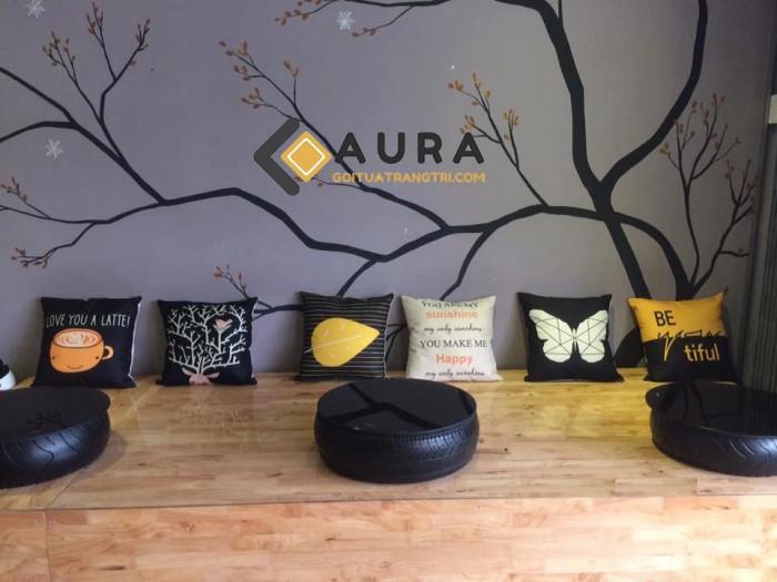 Feeback - 13 - của khách hàng khi trang trí không gian với gối tựa lưng Aura