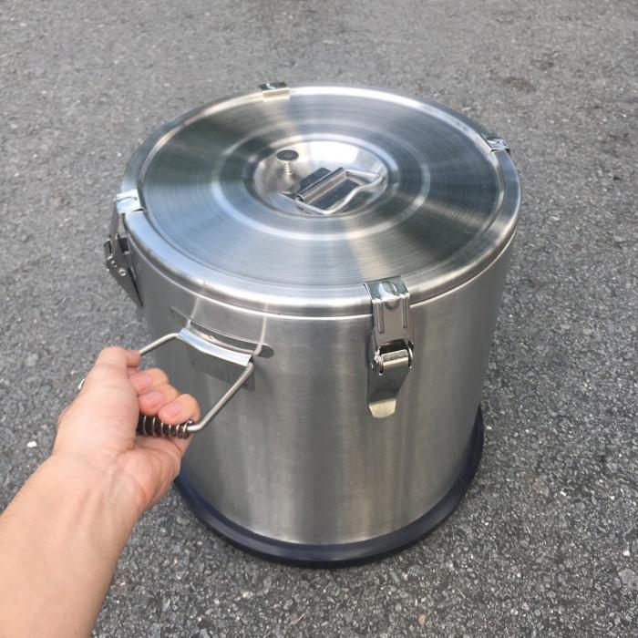 Thùng inox giữ nhiệt, cách nhiệt, giữ nóng thức ăn - nguồn hàng từ xưởng sản xuất