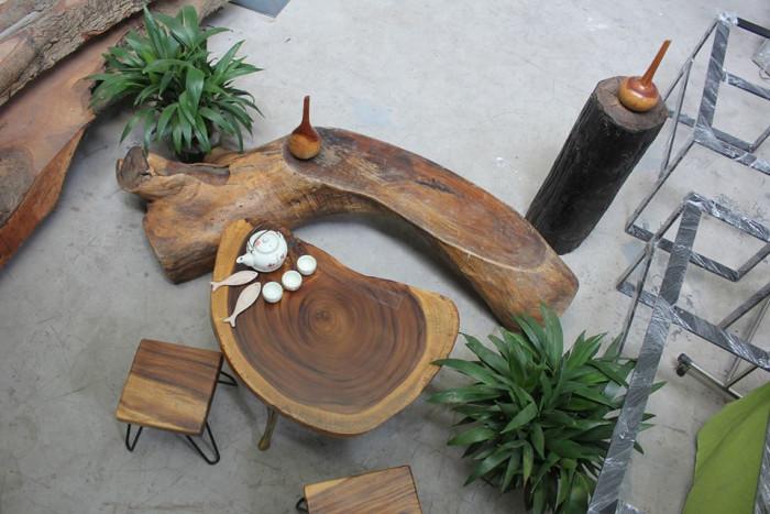 Sản xuất mặt bàn gỗ tự nhiên nguyên khối giá sỉ