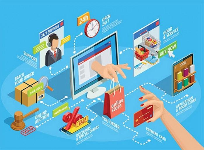 Thương mại điện tử là lĩnh vực được ưu tiên
