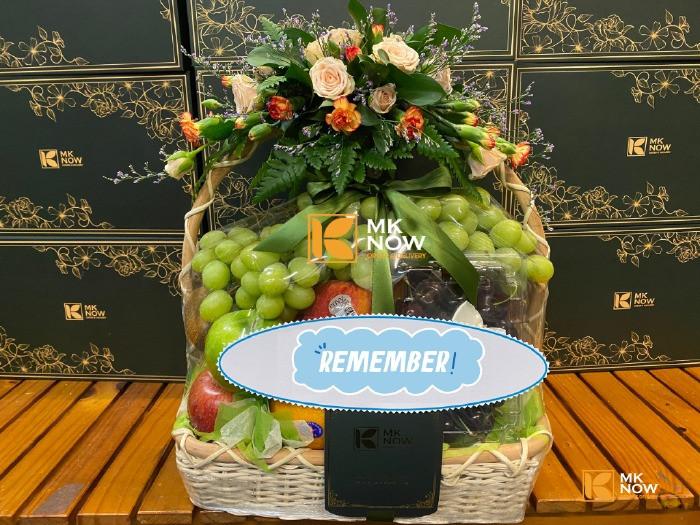 Quà tặng cho Đoàn viên 26/3 - lên hộp quà, lẵng trái cây