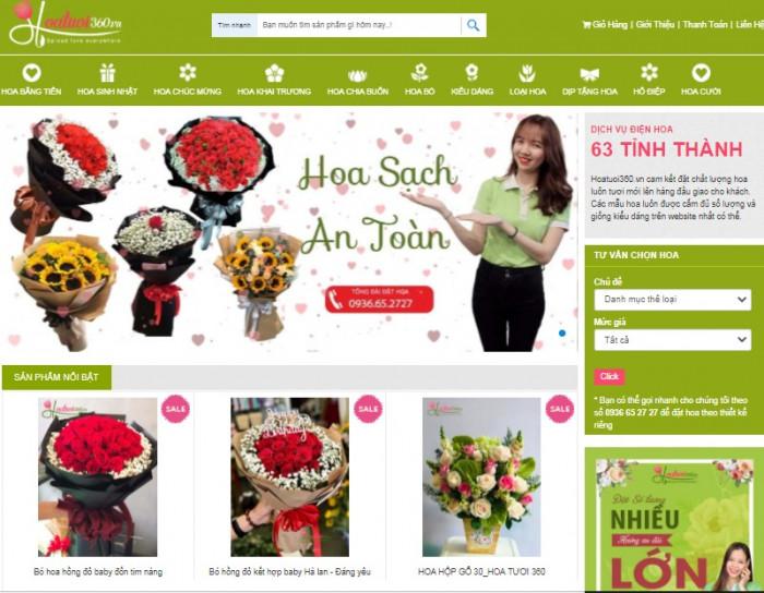 Shop hoa tươi 360