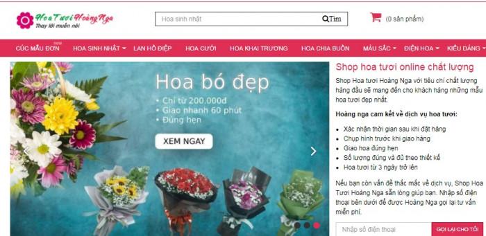Shop Hoa tươi Hoàng Nga