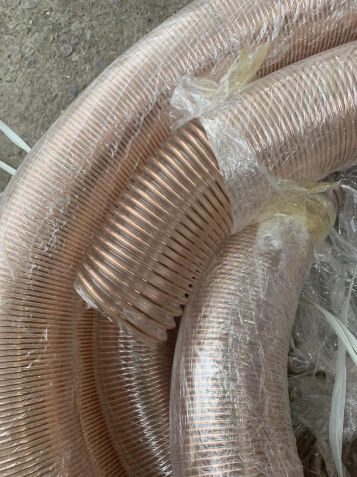 Ống hút bụi lõi thép mạ đồng, ống hút bụi lõi thép, ống hút bụi lõi thép pvc