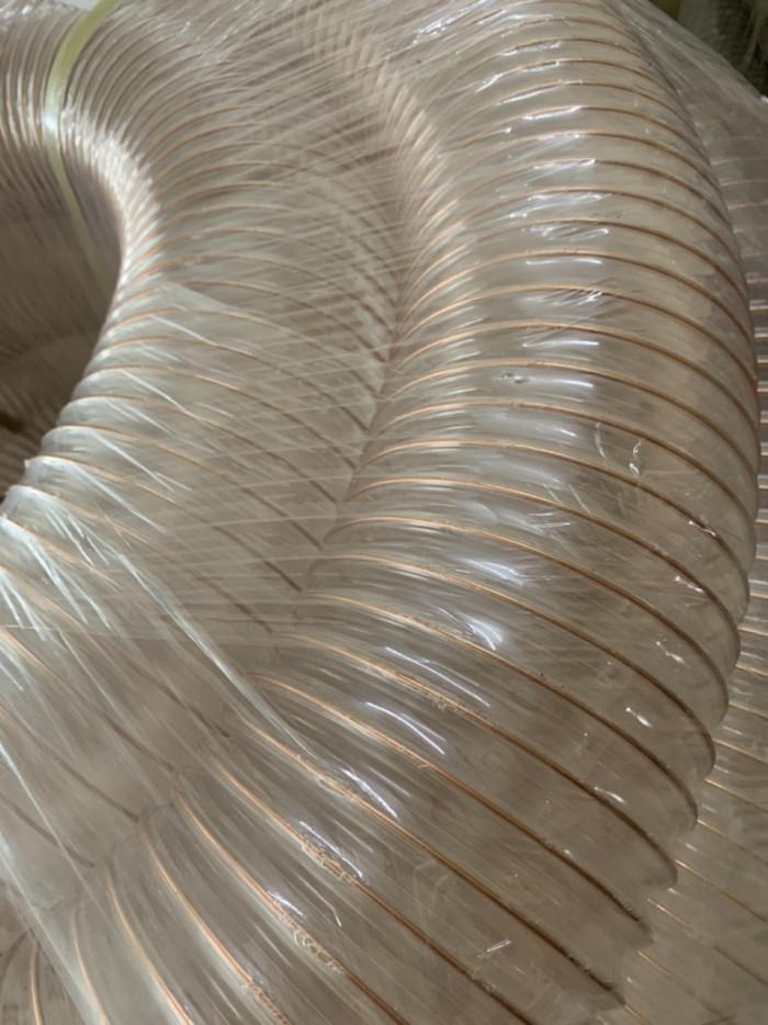 Ống hút bụi lõi thép pvc mạ đồng, ống dẫn hút bụi lõi thép