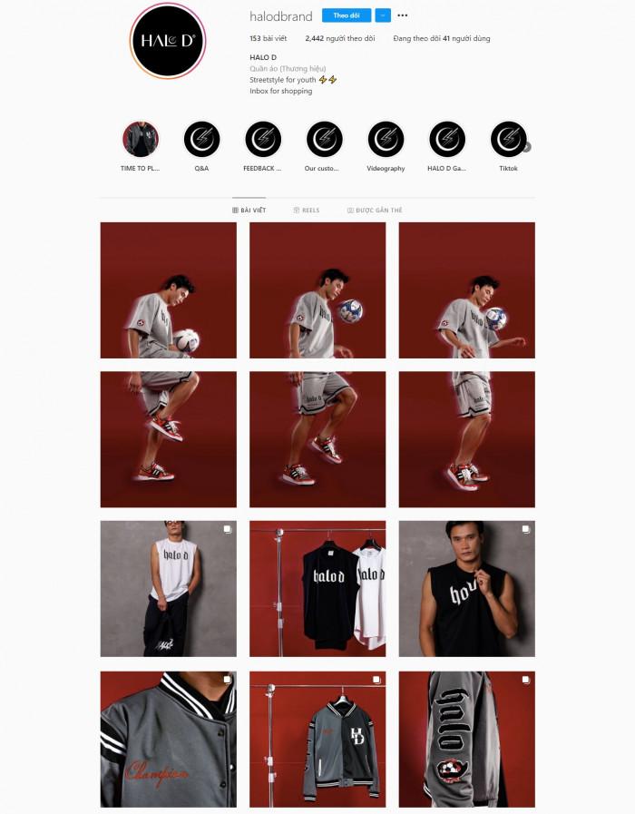 HALO D - local brand thời trang của thủ môn Bùi Tiến Dũng