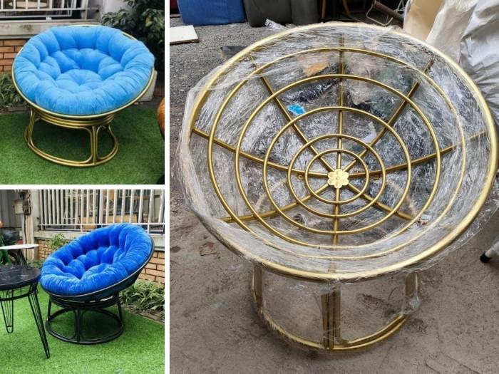 Ghế papasan HCM, ghế tròn papasan, bán ghế mây papasan, ghế ngồi papasan, ghế papasan 120cm