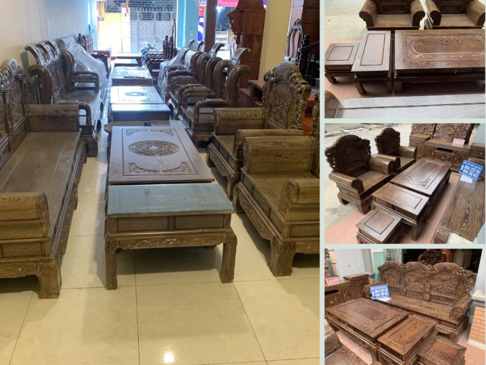 Có nên mua bàn ghế gỗ mun đuôi công? Bộ bàn ghế khổng tử gỗ mun đuôi công từ Hà Nội