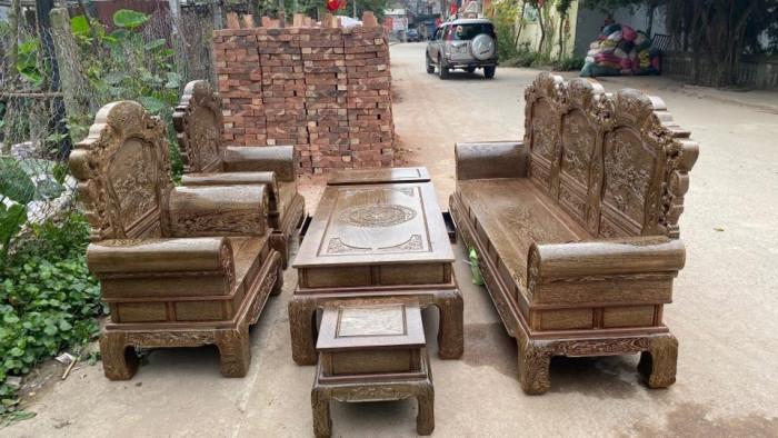 Bộ bàn ghế ăn gỗ mun hoa, bộ bàn ghế gỗ mun giá bao nhiêu