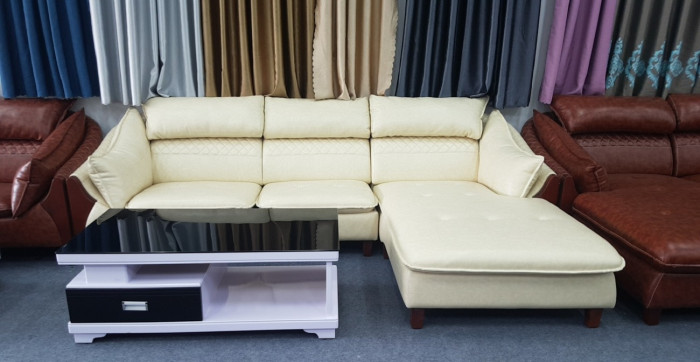 Sofa da đơn