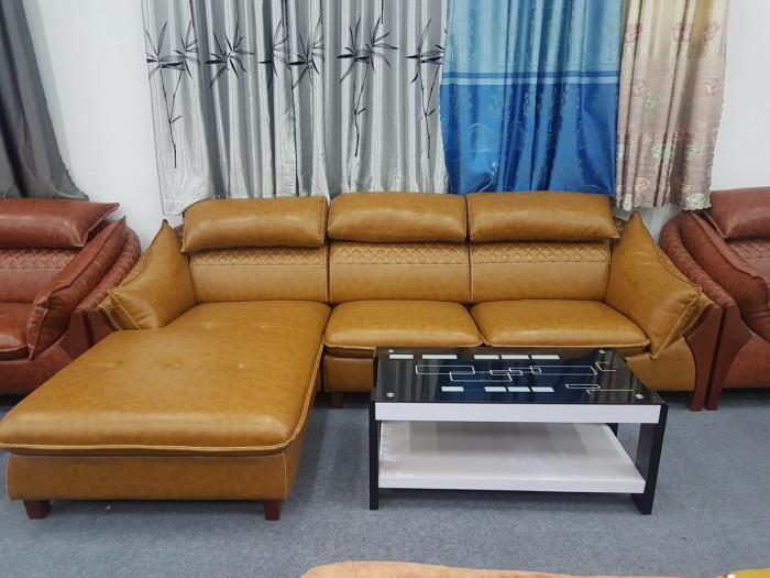 Sofa da nhỏ gọn