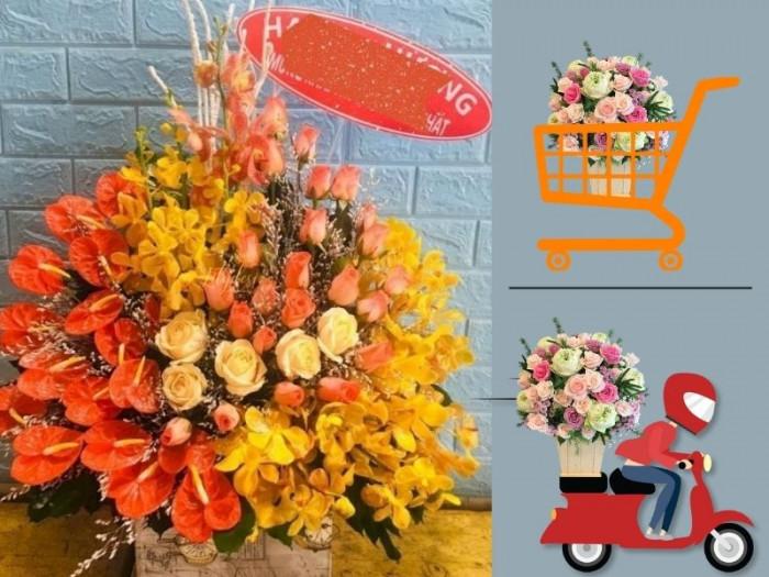 Điện hoa quà tặng kỷ niệm ngày Thành lập Công đoàn Việt Nam 28/7 TPHCM