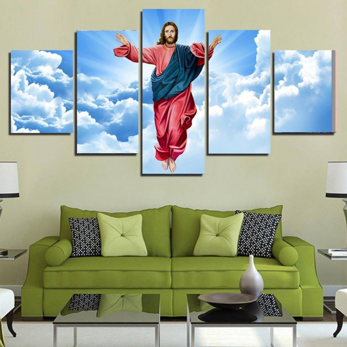 Tranh gạch 3D Thiên Chúa