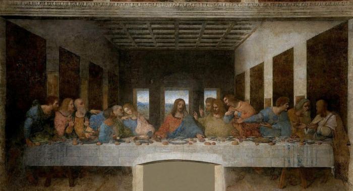 Bữa tiệc ly của Leonard da Vinci