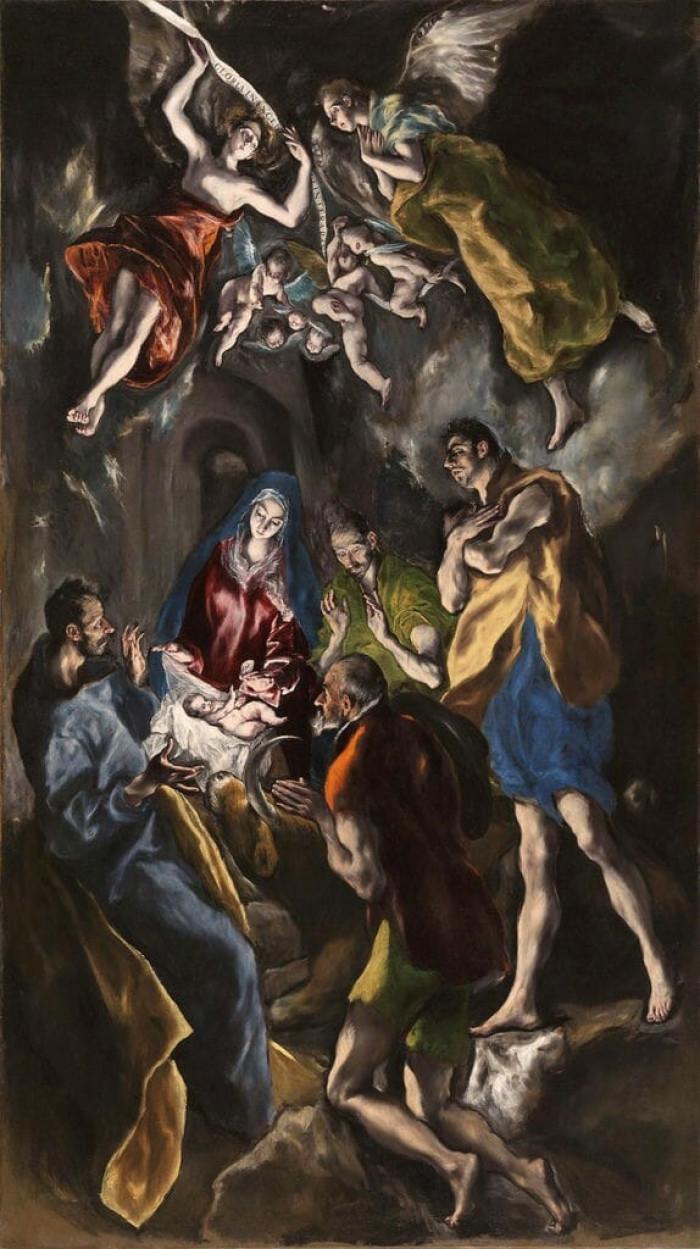 """Các mục đồng thờ lậy"" của El Greco"